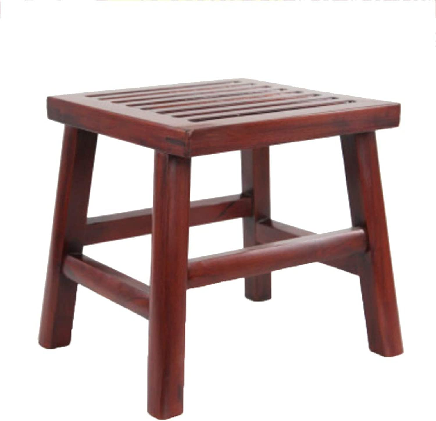 JIANFEI Footstool Change shoes Bench Solid Wood Frame Waterproof, 11 Types (Size   B-26x26x27cm)