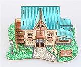 ZYJFC Star Hotel 3D Rompecabezas de Madera Manualidades de Bricolaje Set Rompecabezas Regalo, Juguetes educativos para Adultos y niños
