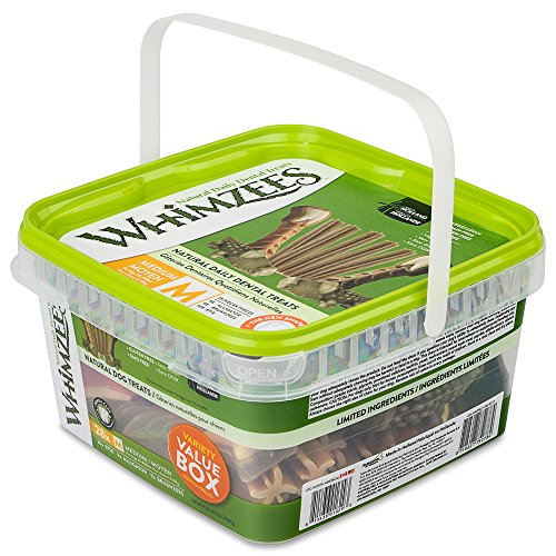 Whimzees Variety Value Box Medium (28 Pieces)