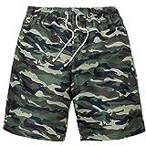 sandbank Men's Camouflage Swimtrunks Bathing Suit Board Shorts...
