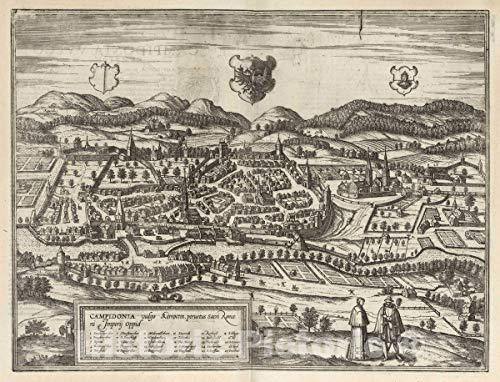 Historic Map : Kempten, Germany, Vol II (38) Campidonia (Kempten),...