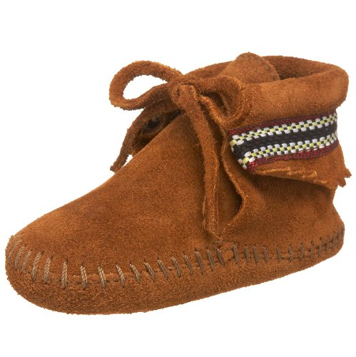 Minnetonka - Braid Bootie - Taille 20 - Marron