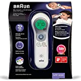 Braun Thermomtre Sans Contact + Frontal, NTF3000