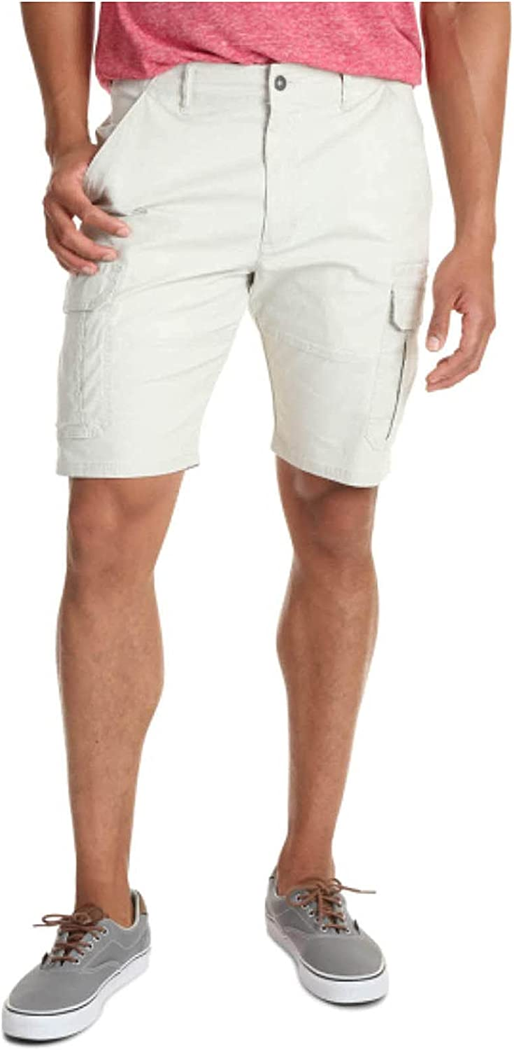 FACAIAFALO Men's Classic Relaxed Fit Stretch Cargo Short Elastic