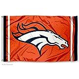 WinCraft Denver Broncos Orange Flag
