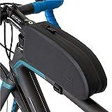 GORIX ゴリックス トップチューブバッグ エアロ 自転車 [ 完全防水 ドライ ロードバイク ] バッグ フレームバッグ サイクルバッグ タンク (B10)