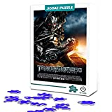 Adult Puzzle 1000 Transformers: Fallen Revenge: Megatron Puzzle de madera Rompecabezas de estrella de cine familiar, Desafío intelectual, Juguete educativo 75x50cm