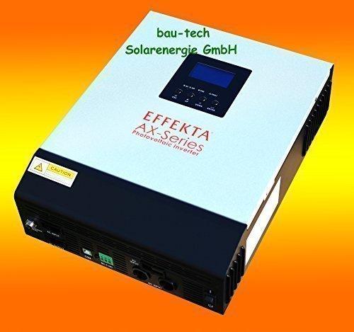Hybrid Wechselrichter EFFEKTA AX-M 5000 Serie von bau-tech Solarenergie GmbH