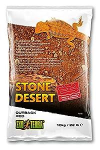 Exo Terra PT3136 Outback Red Stone Desert Substrate for Terrariums 10 kg