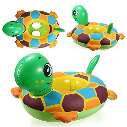 KING DO WAY Schildkröte Baby Babyboot Schwimmring Schwimmsitz Schwimmhilfe Schwimmreifen