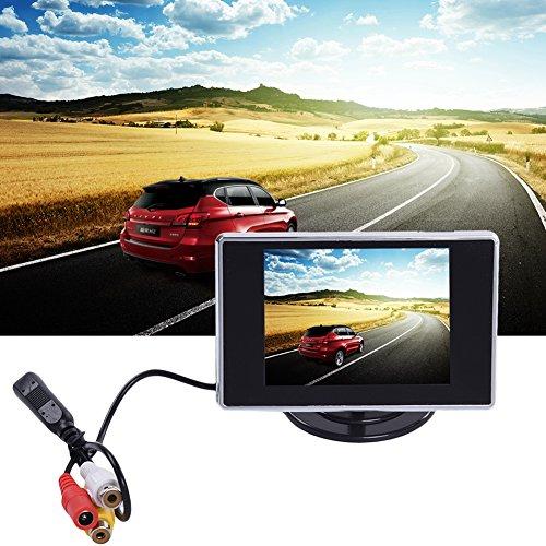 Voiture Caméra de Recul Système de recul aide au stationnement TV Vidéo 3.5 TFT LCD affichage voiture moniteur pour VCD/DVD lianle