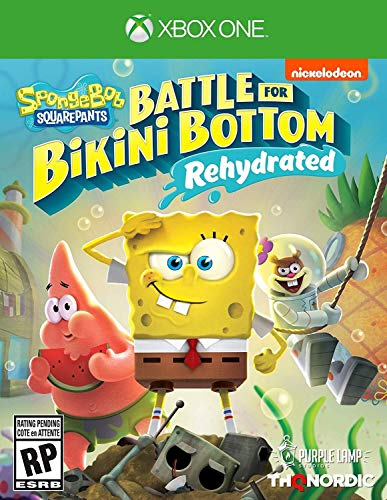 Spongebob squarepants: battle for bikini bottom - rehydrated - xbox one standard edition