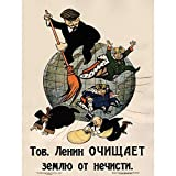 Propaganda Communism Lenin Anti Capitalist Revolution