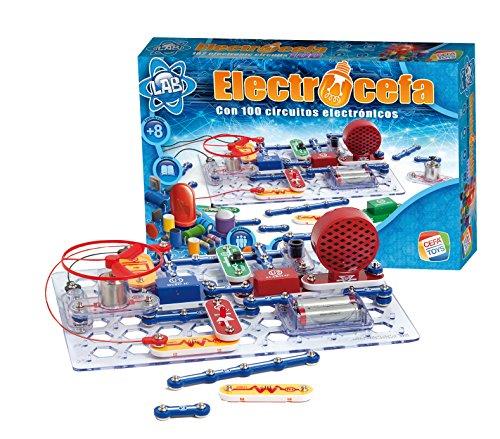 Cefa Toys Electrocefa 100 - Juego de electrónica