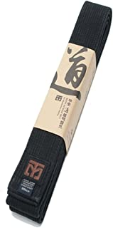 Mooto Do Black Belt Fashion Washed Black Belt Martial Arts TaeKwonDo Hapkido Kendo Karate Judo Length: 94.5