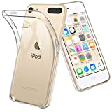 TopACE® Ultra Slim Transparente TPU Silicona Funda Protective Case Funda Cover para Apple iPod touch 6/ 7 2019 (6 Generation & 7 Generation)