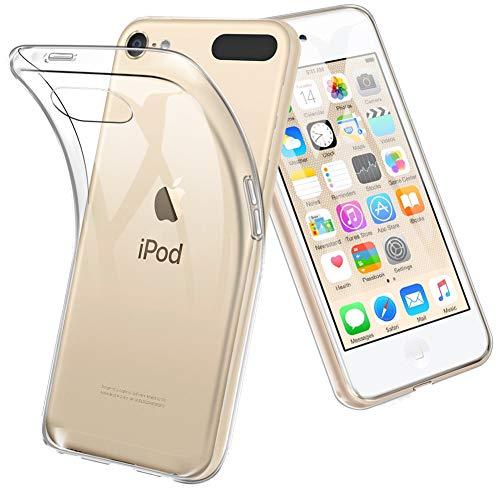 TopACE Ultra Slim Transparente TPU Silicona Funda Protective Case Funda Cover para Apple iPod touch 6/ 7 2019 (6 Generation &...