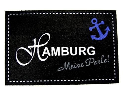 orientbazar24 'Zerbino Hamburg Meine Perle, Ancoraggio, Nero