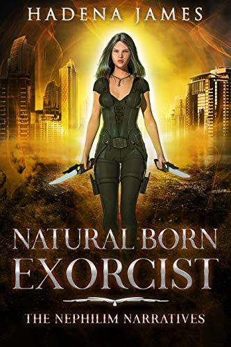 Natural Born Exorcist by James, Hadena ebook deal