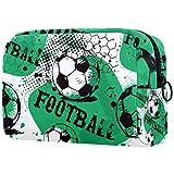Neceseres para Maquillaje de niños Fútbol Fútbol Deportes Animales Bonitos Bolsa de Almacenamiento de Viaje de Impresa Personalizada 18.5x7.5x13cm