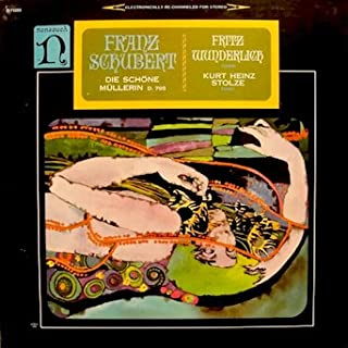 Franz Schubert: Die Schöne Müllerin D. 795 / Fritz Wunderlich, Tenor / Kurt Heinz, Piano / Tracklist: Das Wandern ; Wohin? ; Halt! ; Danksagung an den Bach ; Am Feierabend ; Der Neugierige ; Ungeduld ; Morgengruss & 10 more