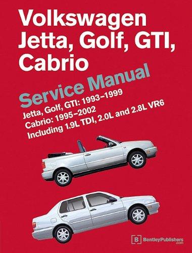 Volkswagen Jetta, Golf, GTI: 1993, 1994, 1995, 1996, 1997, 1998, 1999 Cabrio: 1995, 1996, 1997, 1998,…