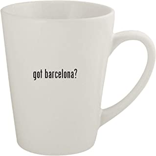 got barcelona? - Ceramic 12oz Latte Coffee Mug
