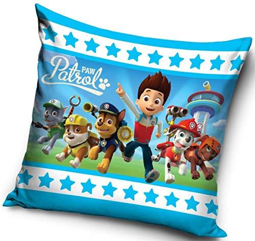 Mgs33 - Federa per cuscino per bambini, 40 x 40 cm, motivo: Paw Patrol 40 x 40 cm
