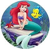 The Little Mermaid Ariel Image Photo Sugar Frosting...