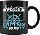 N\A Mírame Soy El Capitán Ahora Taza Taza de café té