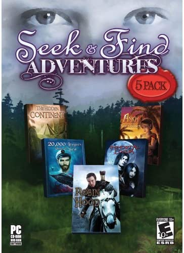 Seek and Find Adventures The Hidden Continent 20 000 League Under the Sea Robin Hood Immortal product image