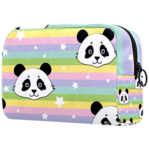KAMEARI Bolsa cosmética Rainbow Panda grande bolsa cosmética organizador multifuncional bolsas de viaje
