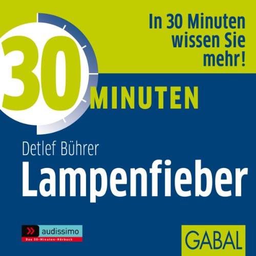 30 Minuten Lampenfieber audiobook cover art