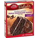 General Mills Betty Crocker Triple Chocolate Cake Mix, 15.25 oz