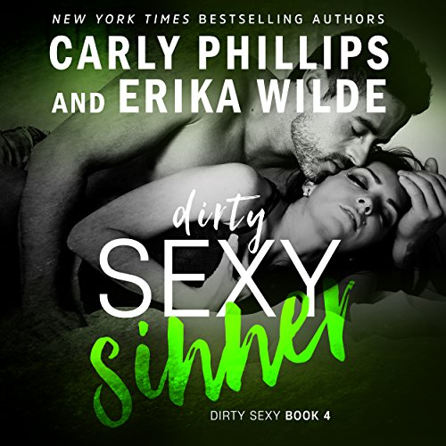 Dirty Sexy Sinner audiobook cover art