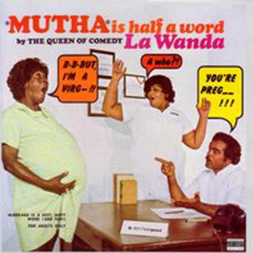 Mutha is Half a Word audiobook cover art