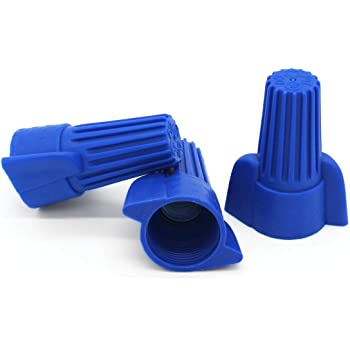 Blue Wire Connector 1000 nuts Twist Type