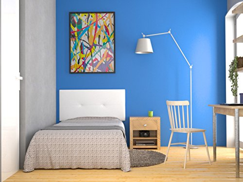 LA WEB DEL COLCHON - Cabecero tapizado Julie para Cama de 105 (115 x 55 cms)...