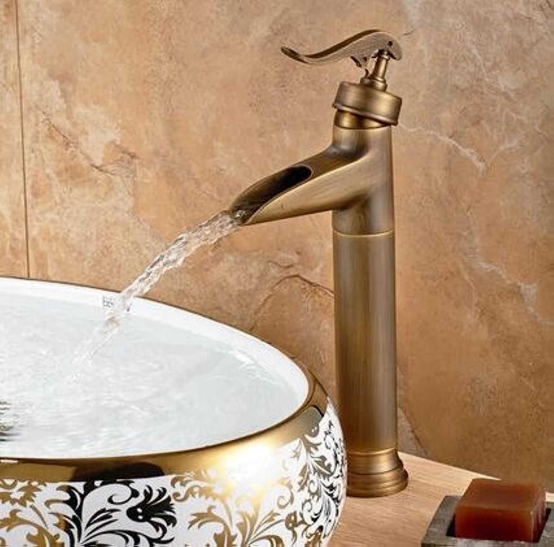 U-Enjoy Hohe Aufsatz- Vessel Top-Qualitt Wannen-Hahn-Badezimmer Einhand-Taps Hei- Und Kaltwasser-Wsche-Hahn-Mischer-Hahn [Kostenloser Versand]