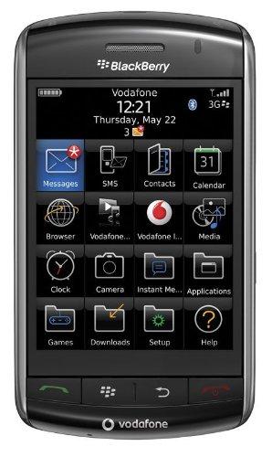 BlackBerry Storm 9500 Smartphone (mit Branding Vodafone) schwarz