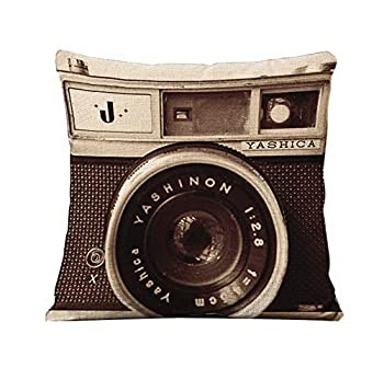 couch camera pillow yashinon yashica
