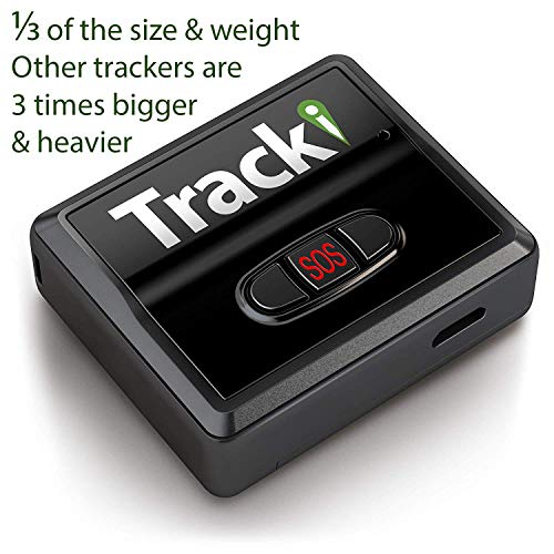 Tracki 2020 Model Mini Real time GPS Tracker. Full USA & Worldwide Coverage. For Vehicles, Car,...