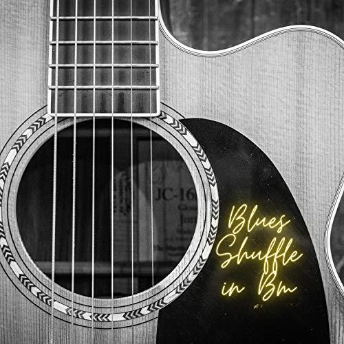 Blues shuffle in Bm 95 BPM no Piano