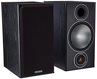 Pair of Monitor Audio 2-Way Reflex Speakers (Bronze 2?Black) by Bronze