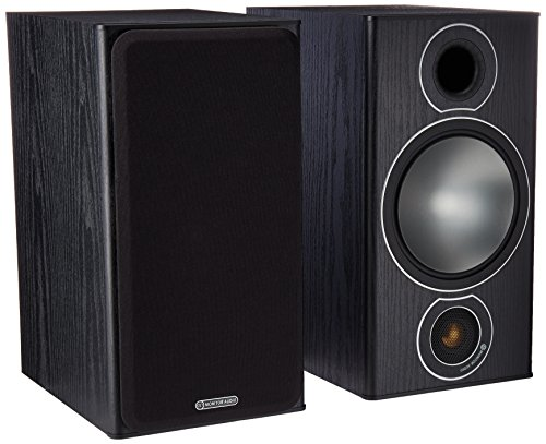 Pair of Monitor Audio 2-Way Reflex Speakers (Bronze 2 Black)