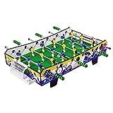 Futbolines Infantil Infantil De Seis Polos Juegos Y Accesorios De Fútbol Divertido Portátil (Color : Blue, Size : 105 * 23 * 51cm)
