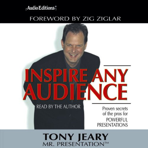 Inspire Any Audience  By  cover art