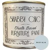 """'Muebles Color, a base de tiza, Shabby Chic de estilo de, color:""""stau biges Azul, 250ml"""