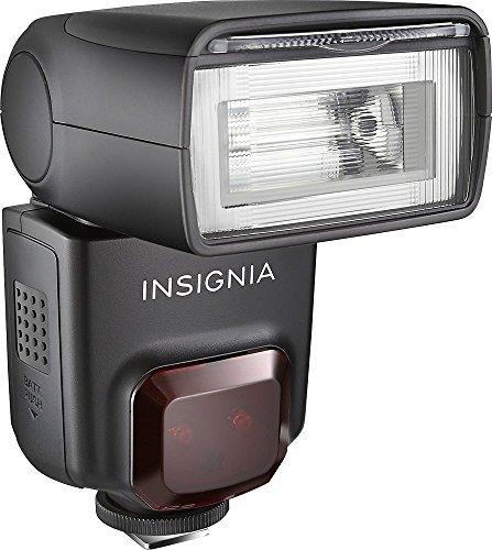 Insignia - TTL External Flash for Canon - Black