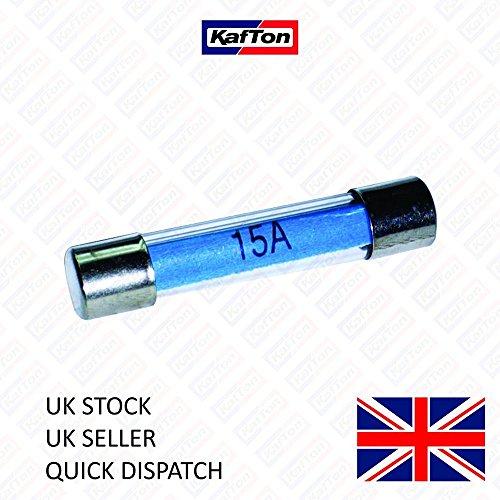 10 unidades Kafton Torpedo fusibles de cer/ámica Continental de 16 A